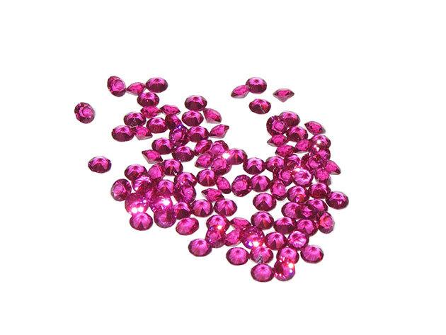 Swarovski szórt kristályok - Lila