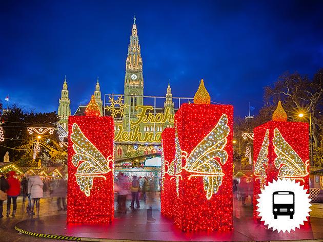 Advent Bécsben - buszos utazások számos időponttal - 7 féle különleges program közül választhatsz!