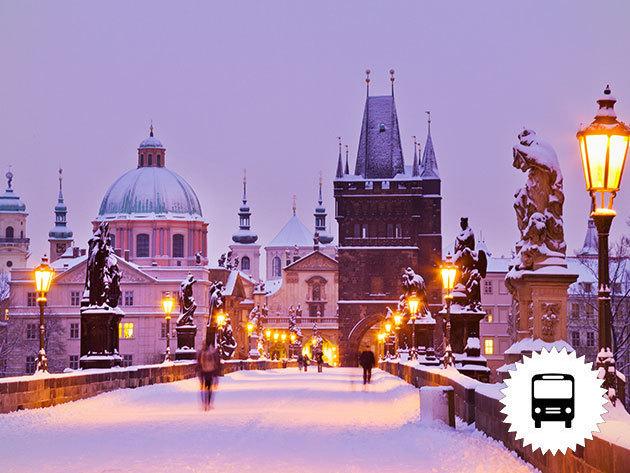 Advent Prágában 1 éjszaka szállással, reggelivel, városnézéssel és karácsonyi vásárral - buszos utazás / fő