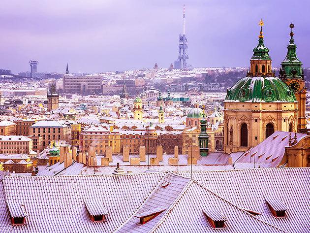 2018. december 15-16. / Advent Prágában 1 éjszaka szállással - buszos utazás reggelivel, városnézéssel és karácsonyi vásárral / fő
