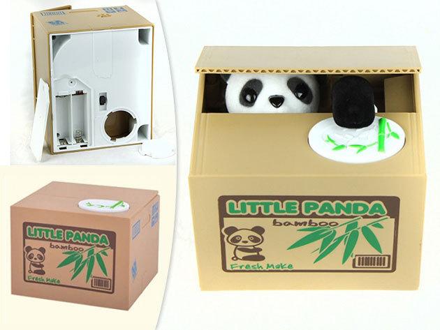 Panda persely! A különleges dizájnnak köszönhetően vidámabb és könnyebb a spórolás!