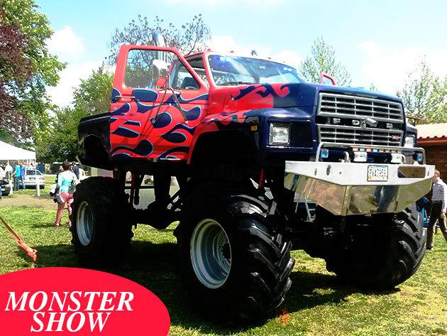 Monster Truck - élményvezetés, fotó és videó készítési lehetőség, lángszóró, profi hang és fénytechnika! Ajándékozz, vagy éld át az élményt TE is!