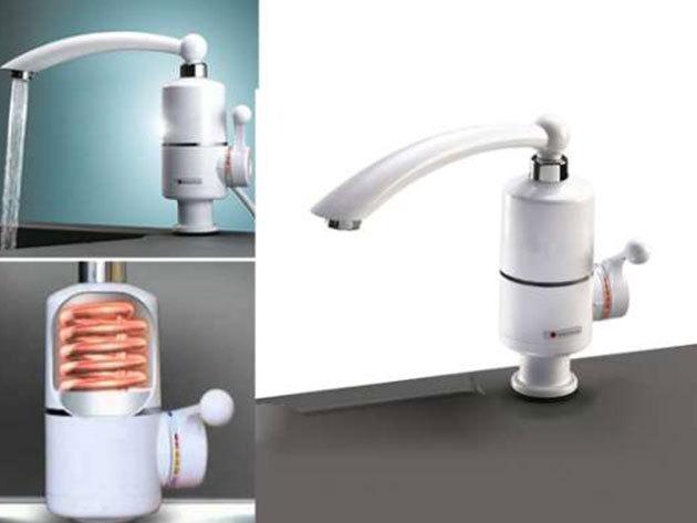 Atfolyós vízmelegítő (kijelző nélkül)