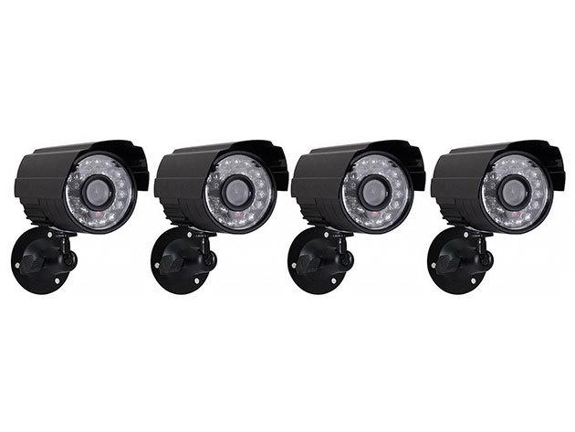 4 kamerás komplett megfigyelő