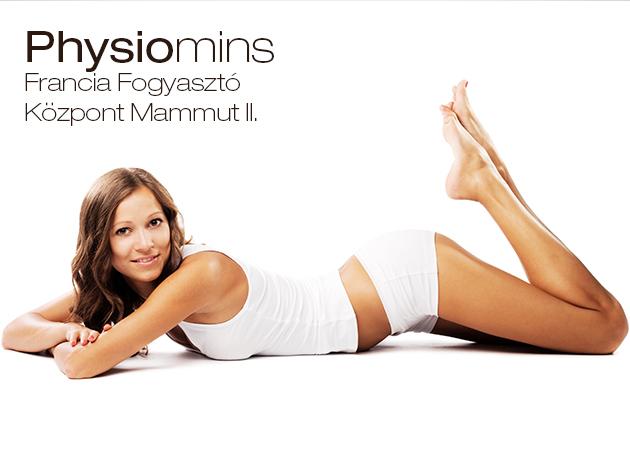 Physiomins fogyasztó-, alakformáló, feszesítő, cellulitisz-kezelő kúra (12 alkalom, személyre szabva) / Physiomins Szalon Mammut II-ben