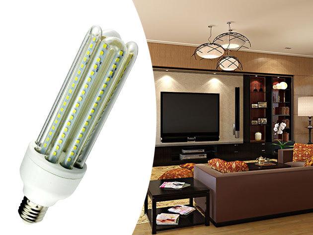 """LED izzók - """"Kukorica"""" alak, választható E27 vagy E14-es foglalat, akár 30.000 óra élettartam"""