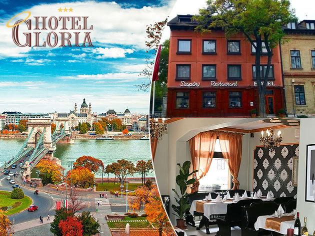 Hotel Gloria Budapest City Center*** - 4nap/3 éjszaka 2 főnek, gazdag svédasztalos reggelivel és dunai városnézéssel, belépőkkel a Memento Parkba, a Tropicariumba, és a Sziklakórházba