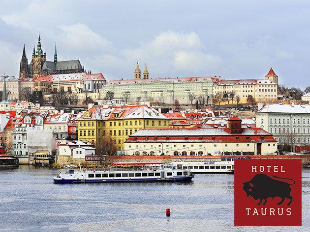 Prága télen - Hotel Taurus**** - 3 nap/2 éj vagy 4 nap/3 éj szállás a város központjában 2 fő részére, reggelivel
