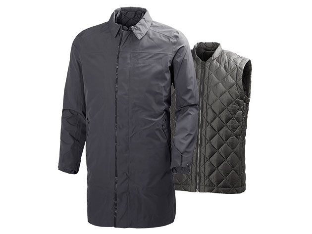 Helly Hansen ASK BUSINESS COAT CHARCOAL XL (62451_964-XL)