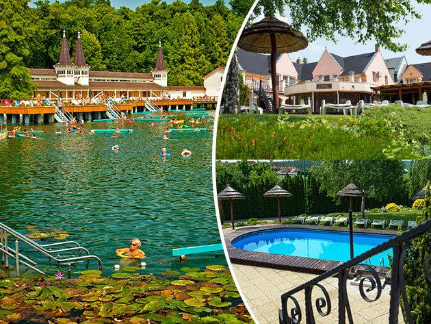 Relax Hotel Hévíznél, szállás 3 nap 2 éjszakára wellnesszel 2 fő részére félpanziós ellátással  / Cserszegtomaj