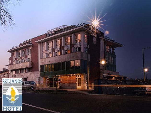 Mohács - 3 nap 2 éjszaka pihenés 2 fő részére félpanziós (reggeli-vacsora) ellátással / Hotel Szent János superiorban*** 2017. január 31-ig