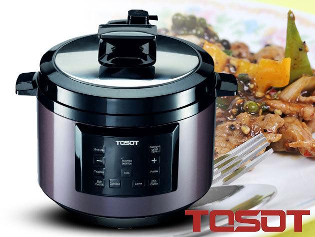 TOSOT Multifunkciós főzőedény / Ötvözi a kukta, a főző- és pároló edények erősségeit