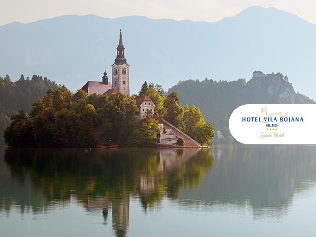 Szlovénia gyöngyszeme, Bled - 3 vagy 4 nap szállás 2 fő részére reggelivel - Garni Hotel Vila Bojana**** / 2017.04.30-ig