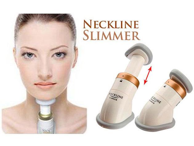 Neckline Slimmer arctréner - egy készülék a toka eltüntetéséhez, a fiatalosabb külsőért