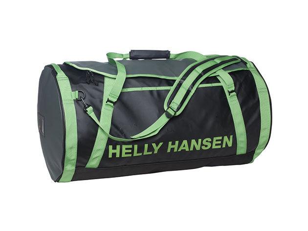 Helly Hansen HH DUFFEL BAG 2 90L BLACK / GREEN STD (68003_992-STD) - AZONNAL ÁTVEHETŐ