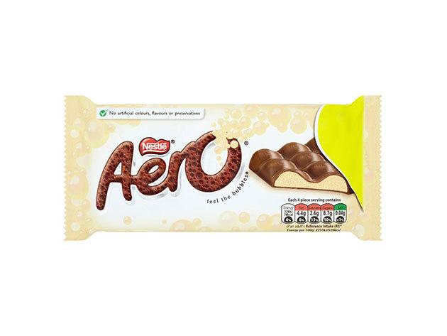Nestlé Aero Bubbly fehércsoki 100g