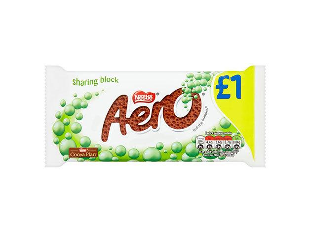 Nestlé Aero Bubbly tej-mentolos 100g