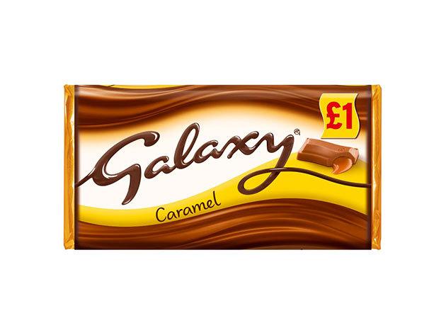 Galaxy Caramel csokoládé 135g