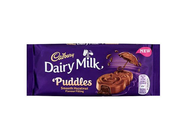 Cadbury Puddles Hazelnut