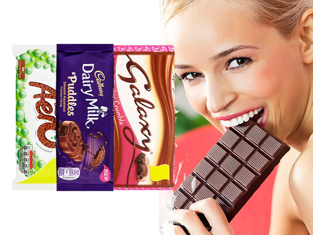 Csoki édesszájúaknak - Nestlé Aero Bubbly, Galaxy és Cadbury csokoládék változatos ízekben