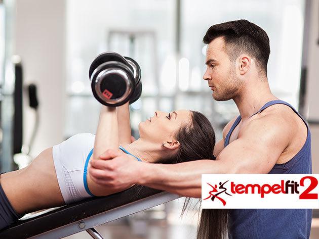 Személyi edzés (1 alkalom), mely tartalmaz: edzéstervet, táplálkozási tanácsadást, a konditermi gépek helyes használatának bemutatását - XIV. kerület