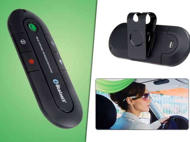 Bluetooth-os v3.0 kihangosító akár 20 óra beszélgetési idővel - Használd Te is a biztonságos vezetés érdekében!