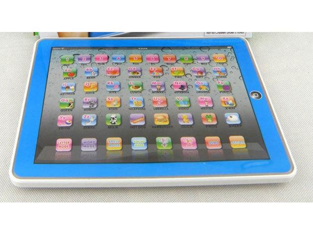 Angol nyelvű tablet PC játék gyerekeknek! - kék