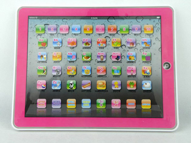 Angol nyelvű tablet PC játék gyerekeknek! - rózsaszín