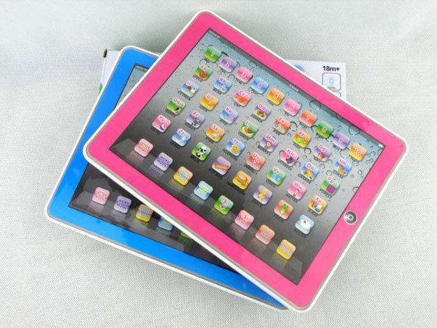 Tablet PC játék gyerekeknek angol nyelvű menüvel - nyelvtanulás és szórakoztatás:  ABC, számok, alapszavak...