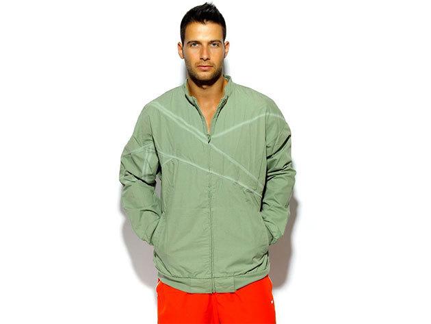 Reebok RS Vector Jkt, átmeneti férfi kabát - zöld - S