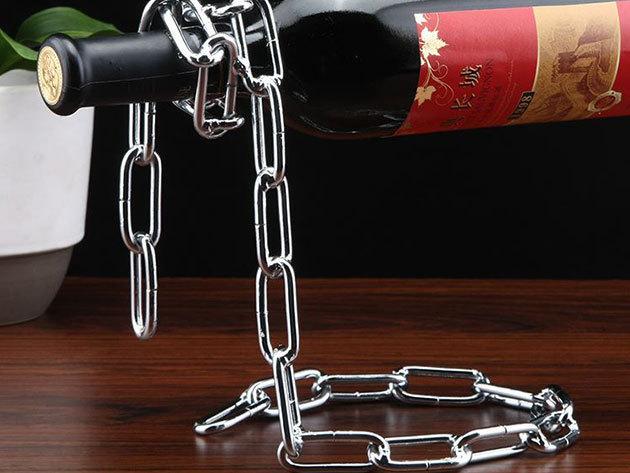 Lebegő bortartó - lánc