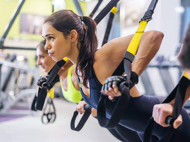 Edzőheveder csomag - eddz a saját testsúlyoddal! Akár 25-30 perc alatt is hatékonyan meg tudod mozgatni az egész tested!