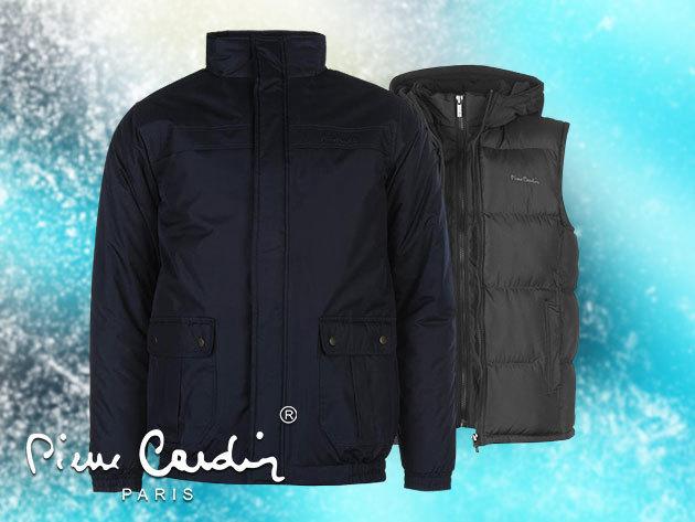 Pierre Cardin férfi kabát és mellény (S-XXL) 34071e9774