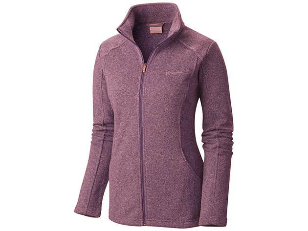 Columbia AL1544-n_562 Horizon Divide Fleece Jacket - Lila - L