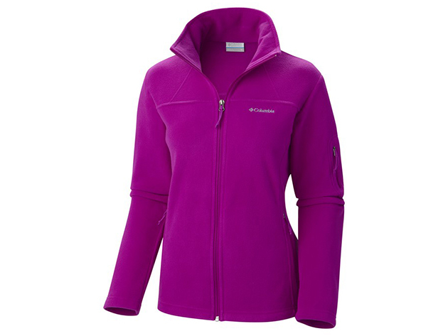 Columbia AL6542-n_530 Fast Trek II FZ Fleece Jacket - Sötétlila - XL