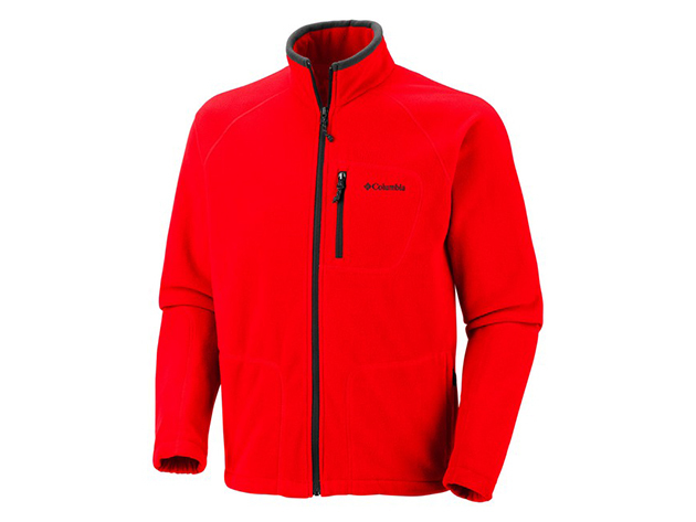 Columbia AM3039-n_692 Fast Trek II FZ Fleece Jacket - Piros - L