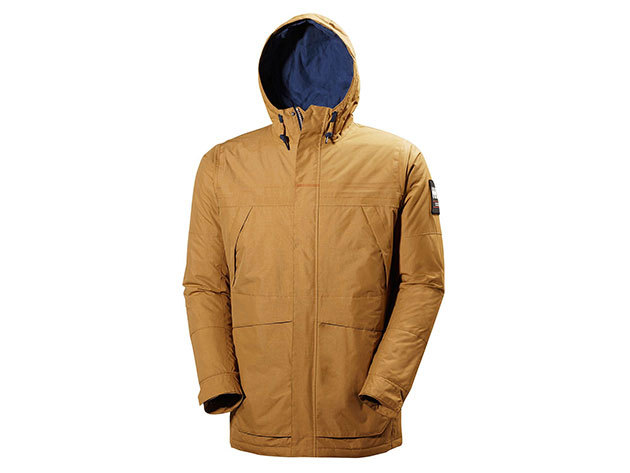 Helly Hansen COASTLINE 2 PARKA BRUNETTE BROWN M (54409_289-M)
