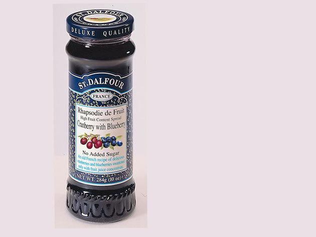 St. Dalfour lekvár - vörös és kék áfonya