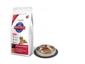 Hill's SP Canine Adult Large Breed Lamb & Rice 12 kg + ajándék fémtál