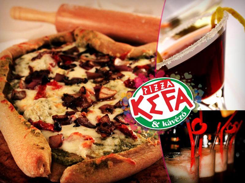 Valentin-napon egy romantikus vacsora a legjobb meglepetés, pláne ha szív alakú a pizza hozzá!