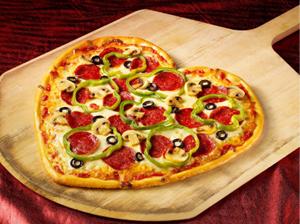 Húsimádó Pizza + Romantika koktél (alkoholmentes)