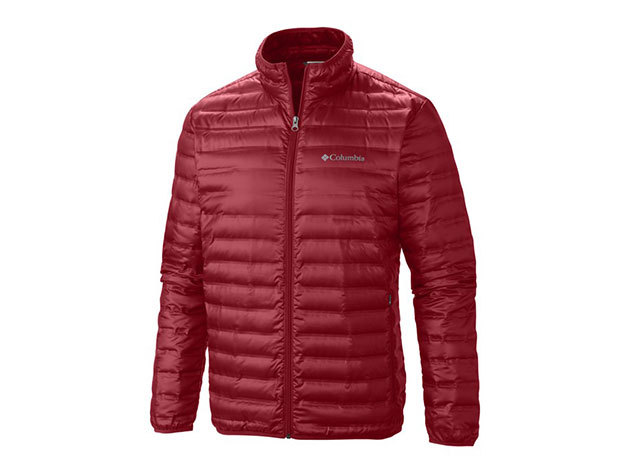 Columbia férfi utcai tollkabát Flash Forward Down Jacket  (WO5529-n_675) - bordó - S
