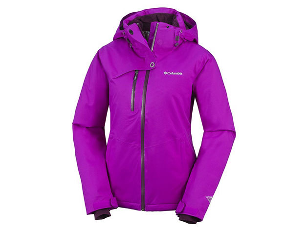 Columbia női síkabát Mile Summit Jacket  (SL1319-n_530) - lila - L