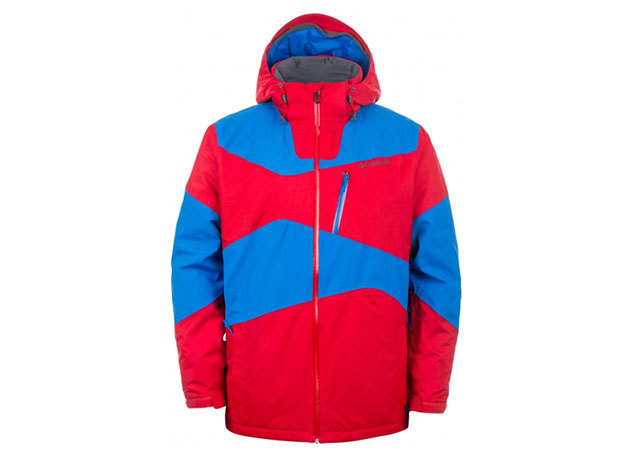 Columbia férfi síkabát Paralell Grid Jacket  (WM1039-n_692) - piros-kék - XXL
