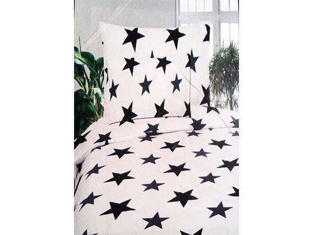 SMARTEX Exclusive 3 részes 100 % Pamut ágynemű garnitúra - Stars (P1)