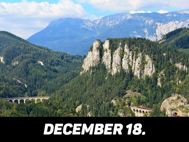 2016. december 18. / Semmeringi vonatozás és Mariazell Advent idején /fő