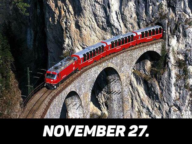 2016. november 27. / Semmeringi vonatozás és Mariazell Advent idején /fő