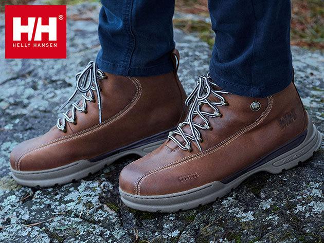 Helly Hansen BERTHED 3 férfi bakancs - prémium vízálló bőr felsőrésszel, kiváló tapadású Helly Grip talppal, őszi hónapokra