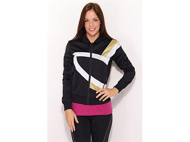 Adidas S Trefoil TT, női pulóver  (V32764) - fekete - 36