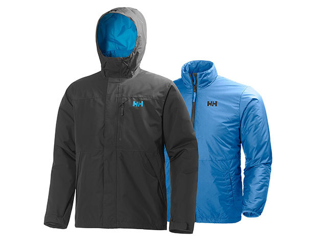 Helly Hansen SQUAMISH CIS JACKET EBONY XXL (62368_980-2XL)